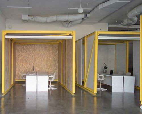 可移动办公舱 打造灵活工作空间