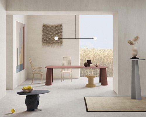 家具混凝土景观 单一材料尽显多重魅力