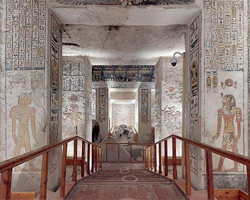 法老墓虚拟游览活动 在家也能游埃及