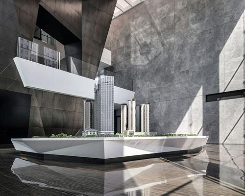 华润x飞视:钻石售楼处设计!