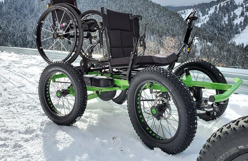 全电动全地形越野轮椅 户外探险不二选