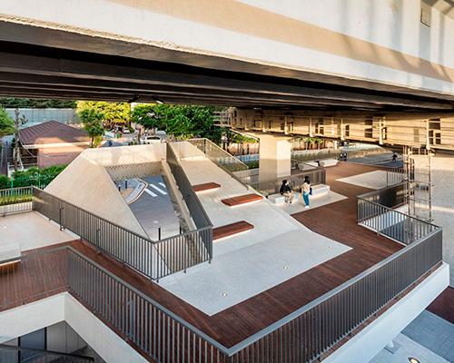 高架桥下的再生空间 | 首尔露台广场