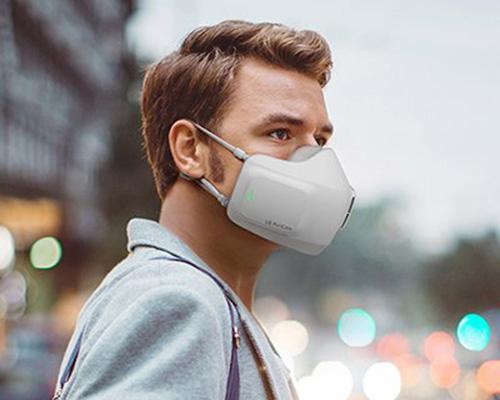LG可穿戴式空气净化器 随时随地随心呼吸
