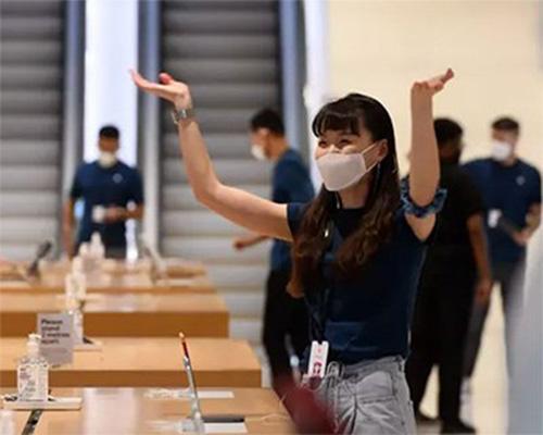 苹果推出自研口罩apple face mask