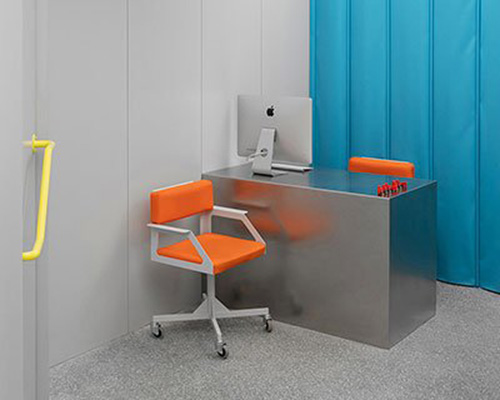 色彩跳跃的眼镜店&验光师办公室设计