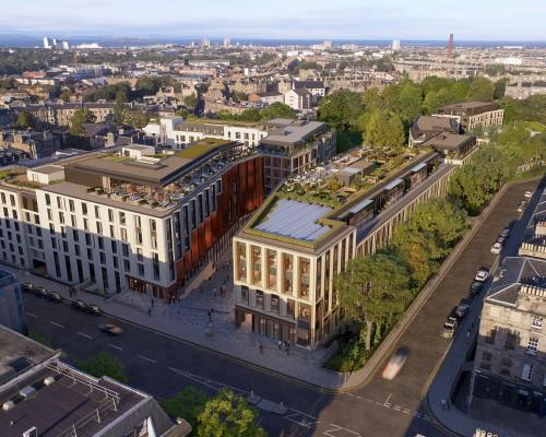 10 Design 设计的爱丁堡新城区更新计划获得规划批准