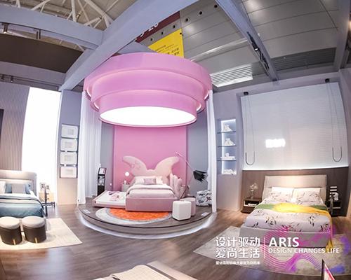 软体大家居战略升级|爱依瑞斯1300平方米展厅惊艳深圳家具展