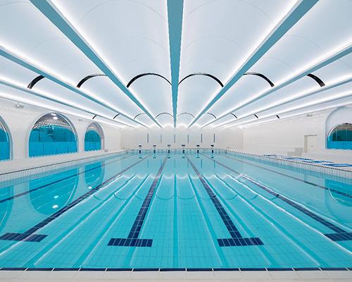DU Studio向合空间联手Proswim打造上海第一家无边际游泳俱乐部